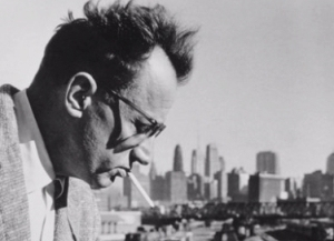 Picture of Nelson Algren in Chicago