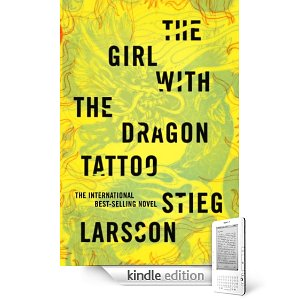 The Girl With the Dragon Tattoo by Stieg Larsson Kindle cover