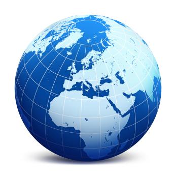 Globe of the Earth
