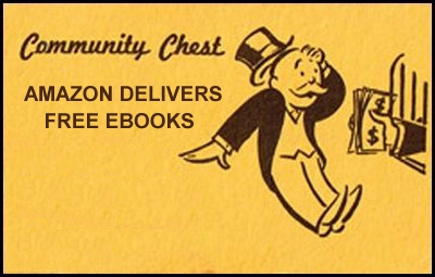 Monopoly Community Chest card Amazon Kindle Free ebook parody