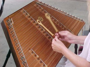 Playing the Dulcimer