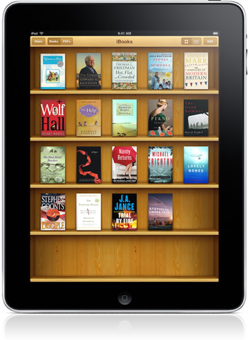Apple iBookstore for the iPad