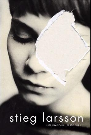 Blank Stieg Larsson book cover