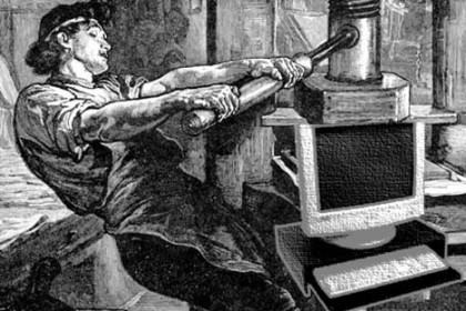 Digital Publishing vs. the Gutenberg press