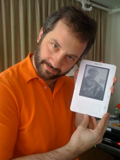 Judd Apatow and other celebrities who love their Kindles