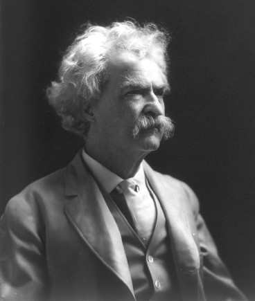 Mark Twain, author