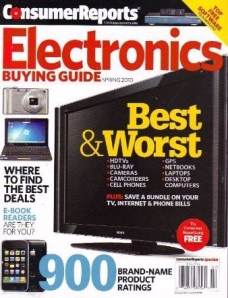 Consumer Reports buying guide cover