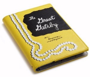 Kate Spade Great Gatsby Kindle book cover