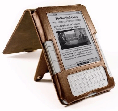 Leather Kindle saddle cover