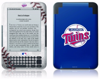 Major League Baseball sports team logo custom Kindle protective skin