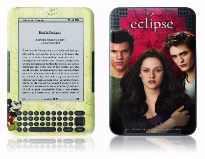Twilight and Mickey Mouse Kindle picture cover